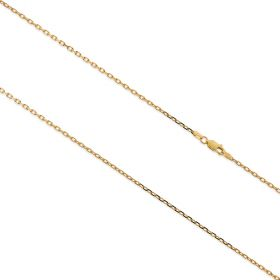 Yellow gold trace chain