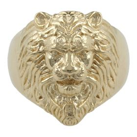 Men's solid 14kt yellow gold