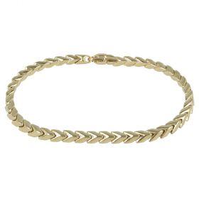 "Bracciale ""Snake"" da uomo in oro giallo"