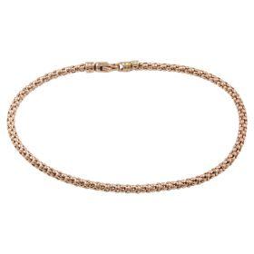 Popcorn bracelet in rose gold 14kt | Gioiello Italiano