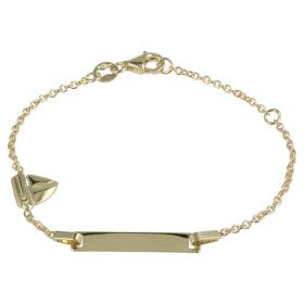 "Bracelet ""Boat"" in yellow gold 14kt"