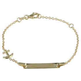 "Bracelet ""Sailor"" in yellow gold 14kt"