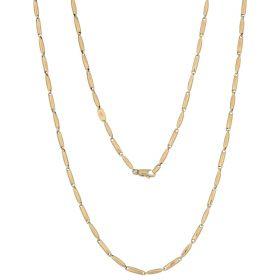 Men's 14kt yellow gold chain