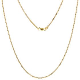 14kt bicolor gold chain | Gioiello Italiano