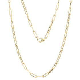 14kt yellow gold hollow chain