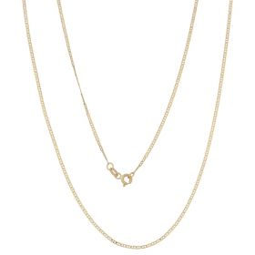 14kt yellow gold thin anchor chain