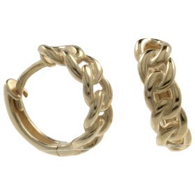 "14kt yellow gold ""Braid"" earrings"