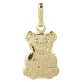 "14kt yellow gold ""Teddy Bear"" pendant"