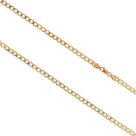 14kt yellow gold grumetta chain | Gioiello Italiano