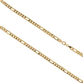 14kt yellow gold great figaro chain | Gioiello Italiano