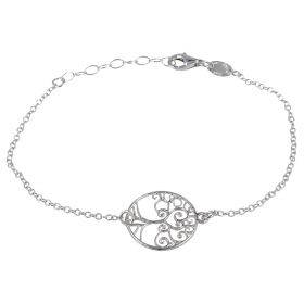 """Tree of Life"" silver bracelet 