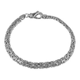 Bracciale bizantino in argento sterling 925 | Gioiello Italiano