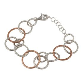 925 sterling silver ring bracelet | Gioiello Italiano