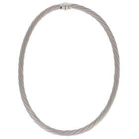 Collana a rete intrecciata in argento