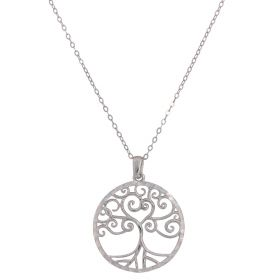 "Silver necklace ""Tree of Life"""