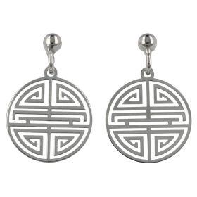 Orecchini greca in argento | Gioiello Italiano
