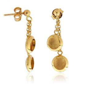 14kt yellow gold earrings