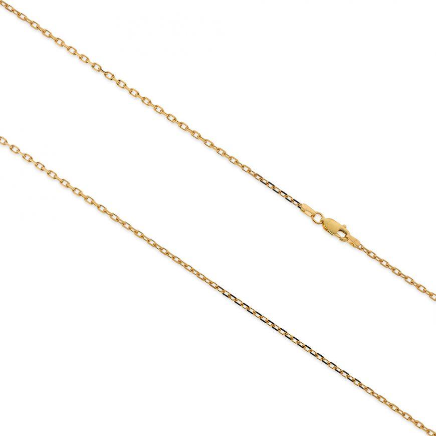 Yellow gold trace chain | Gioiello Italiano