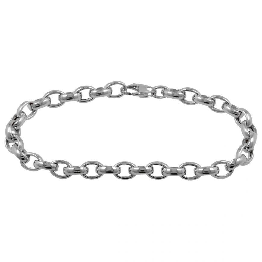 Bracciale ad anelli in oro 14kt | Gioiello Italiano