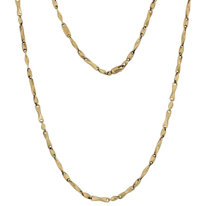 14kt yellow gold chain | Gioiello Italiano