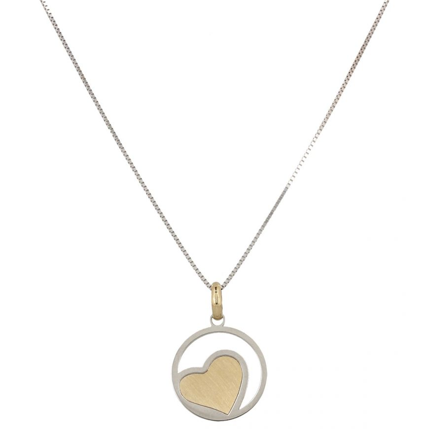 "14kt gold ""Heart"" necklace 