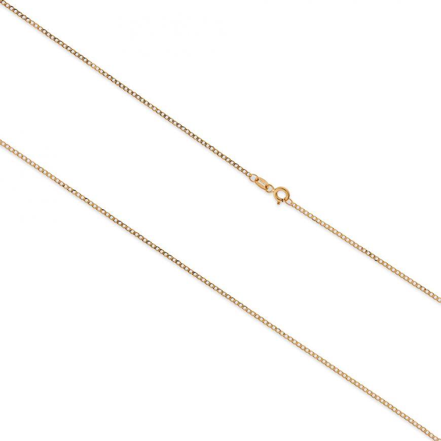 Diamond-cut yellow gold grumetta chain | Gioiello Italiano
