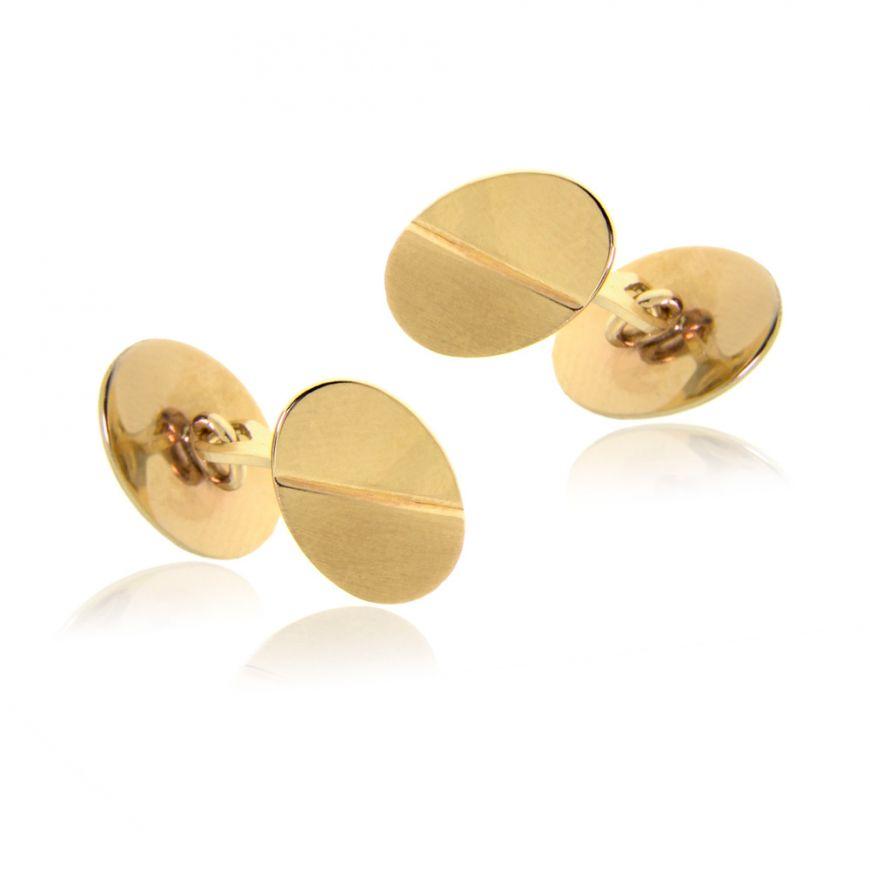 Polsini ovali in oro giallo 14kt | Gioiello Italiano