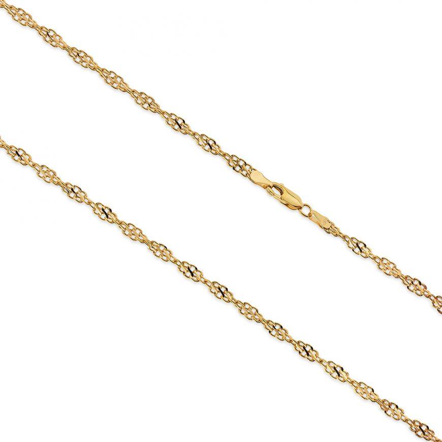 14kt yellow gold singapore chain | Gioiello Italiano
