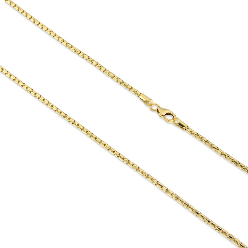 14kt yellow gold korean chain | Gioiello Italiano