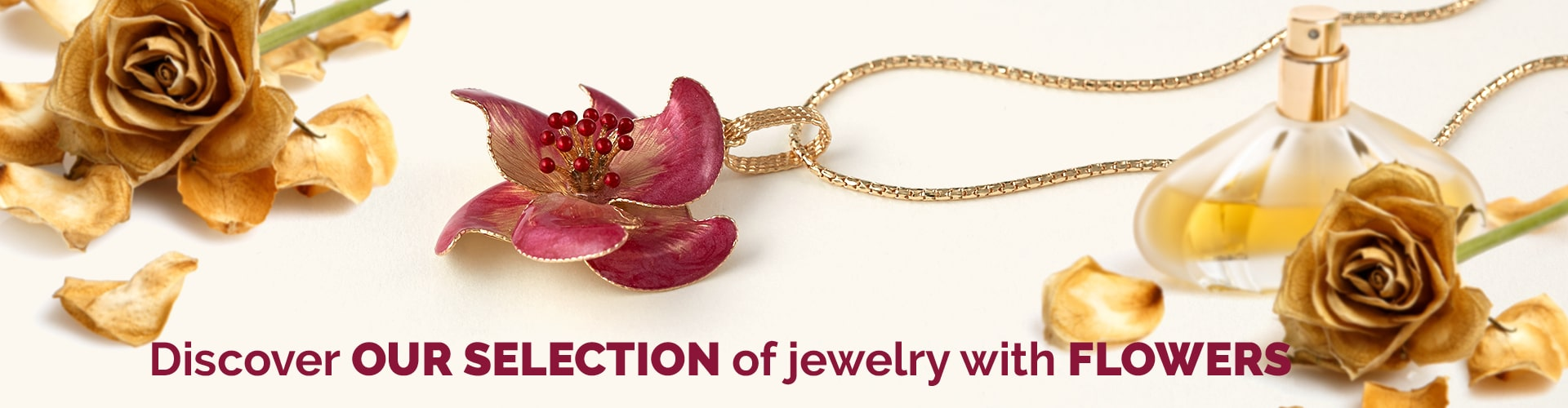 Jewels with Flowers