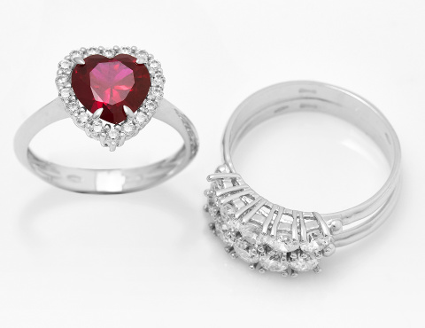 Rings and Solitaires