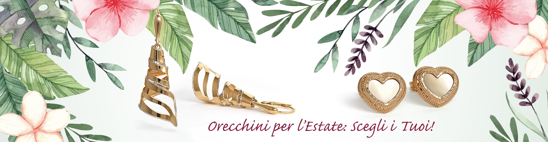 Orecchini Estate