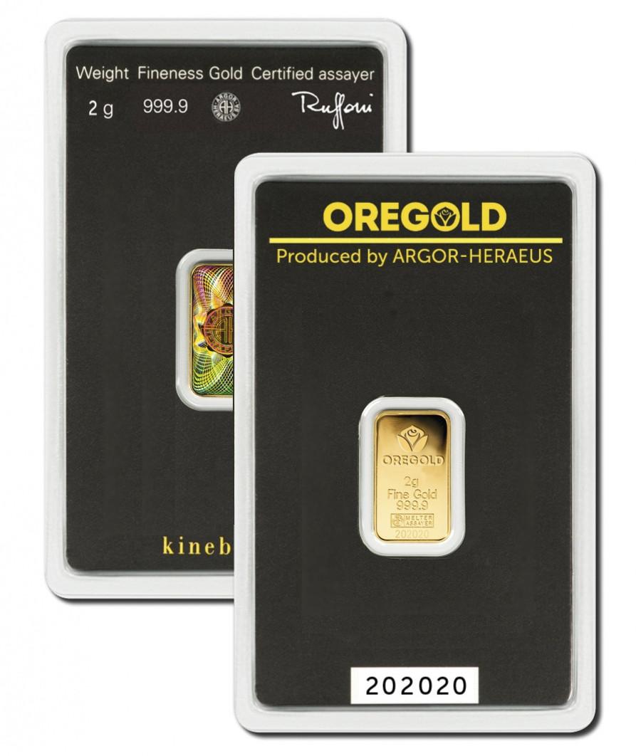 Lingotto Oro 2 grammi