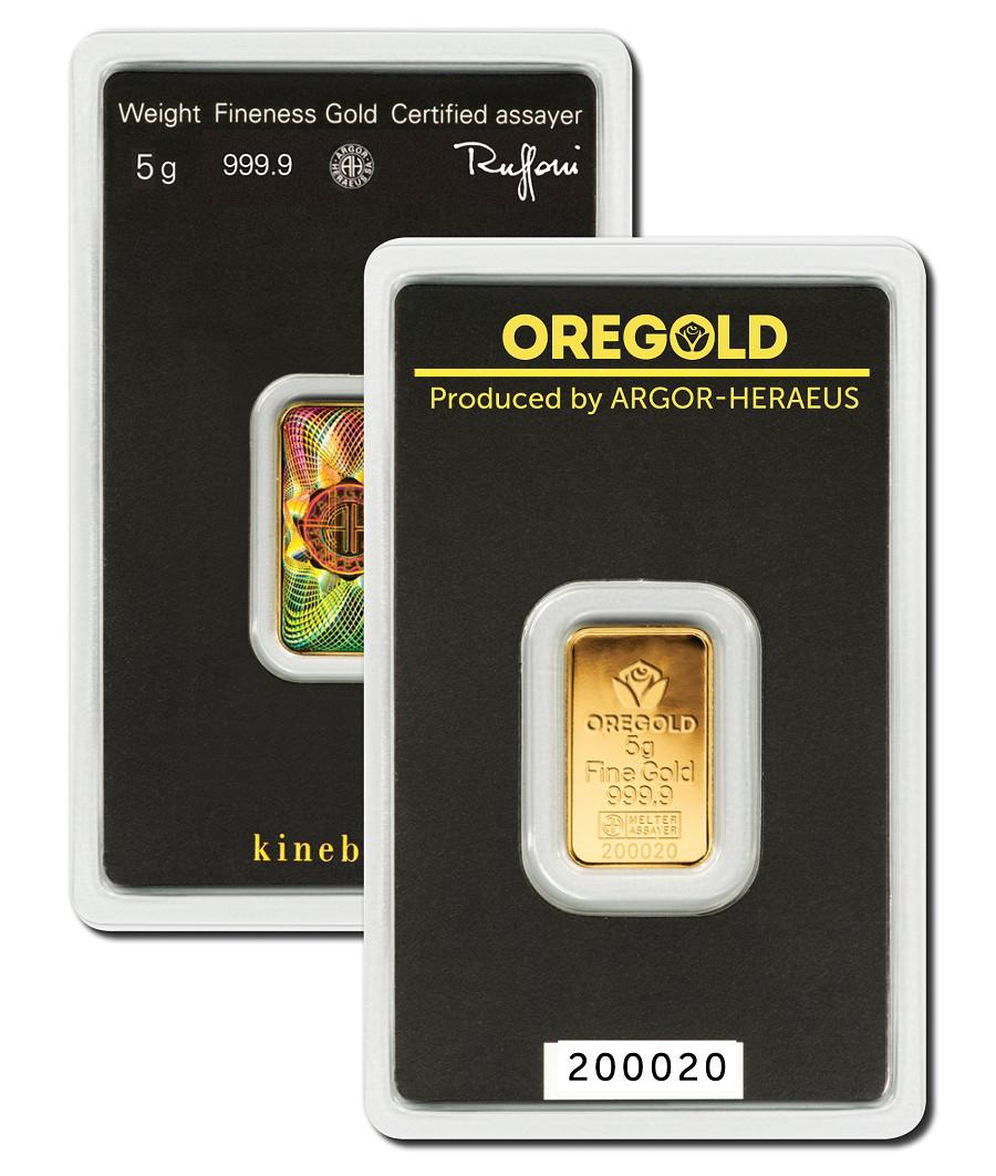 Lingotto Oro 5 grammi