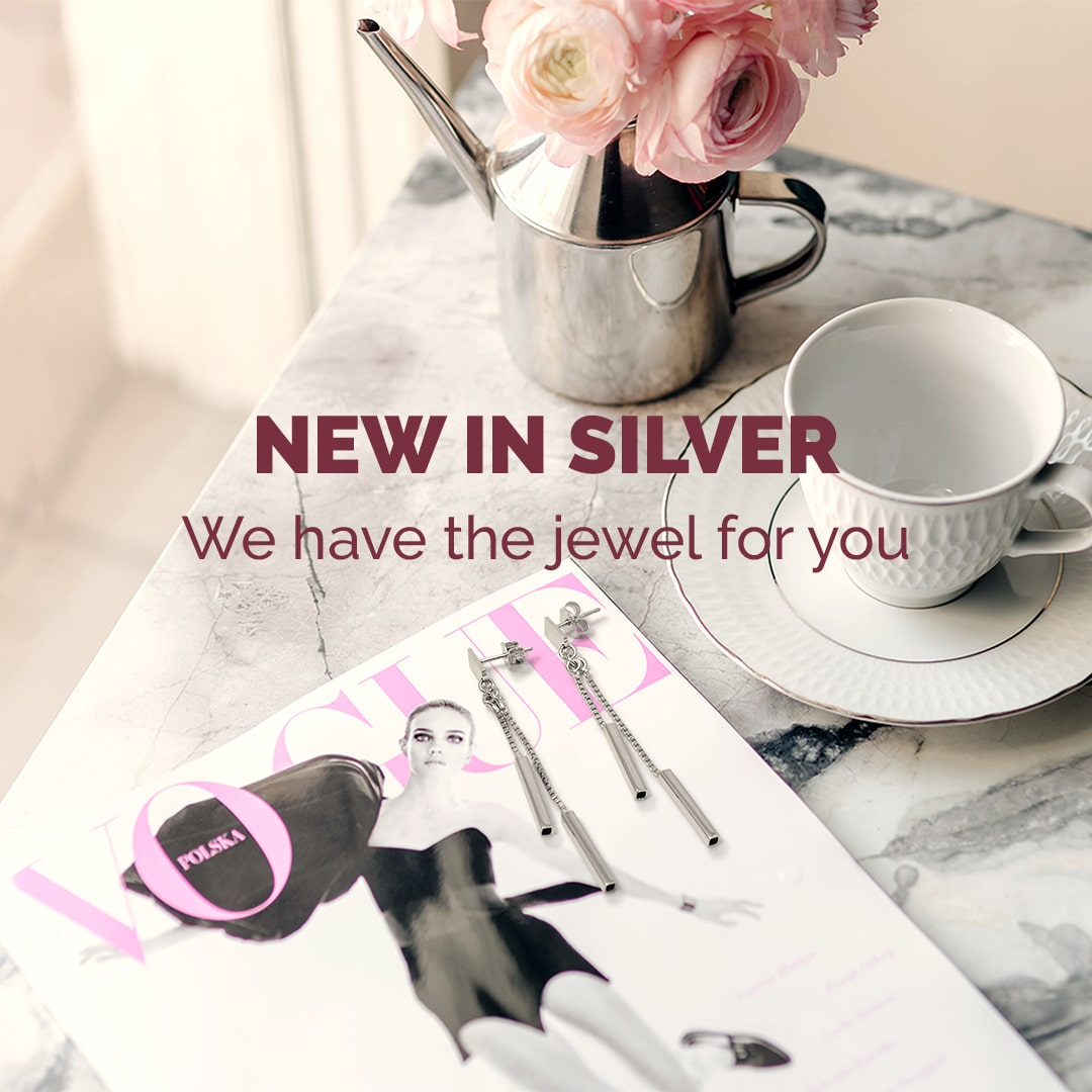 New In Silver mobile