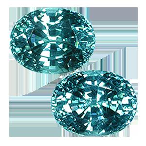 zirconi blu